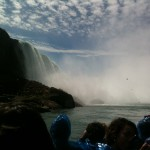 Niagara falls no rain poncho