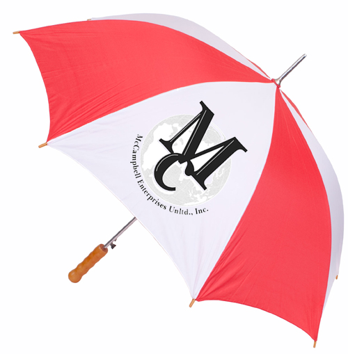 "Customized 60"" Golf Umbrella"